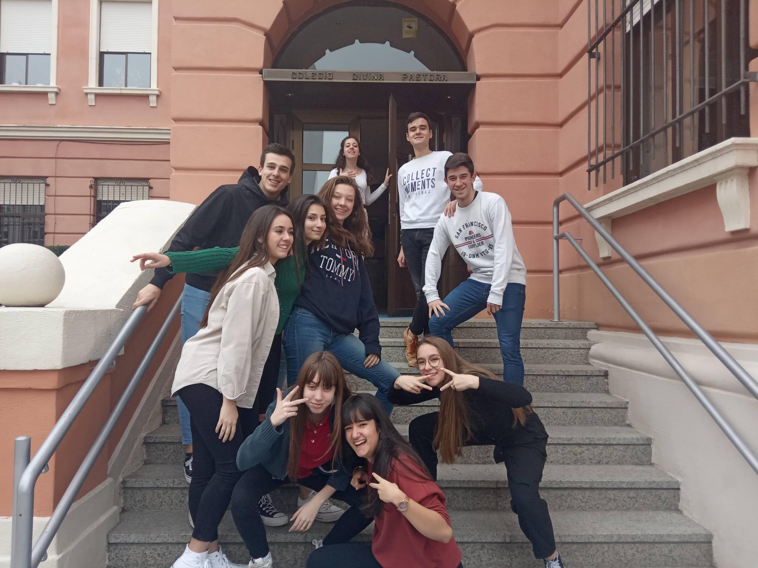 Nota de prensa del Colegio Divina Pastora de León