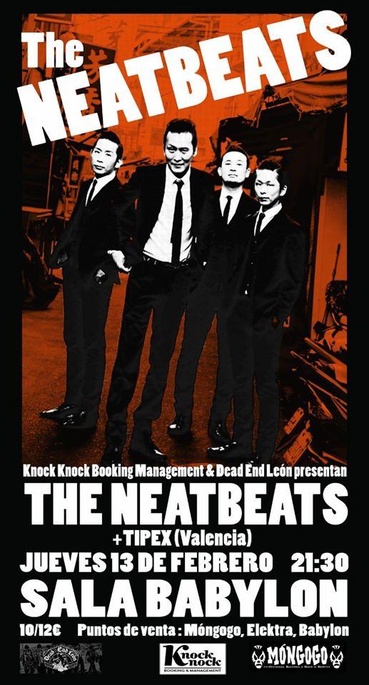 The Neatbeats concierto león