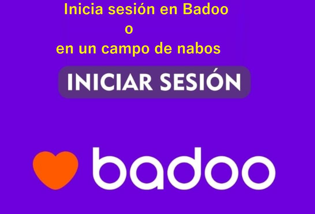El cartel de Badoo y el campo de nabos