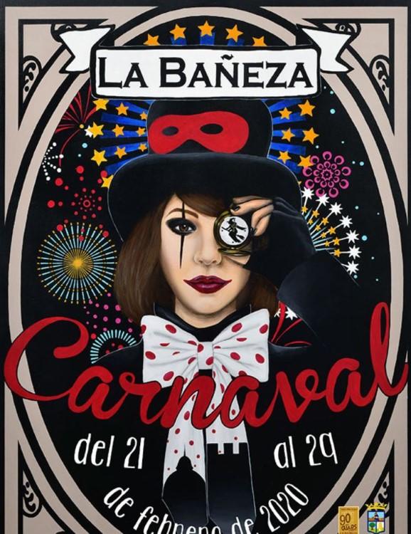 cartel carnaval de la bañeza 2020