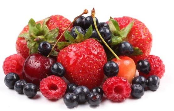 frutos rojos receta san valentin