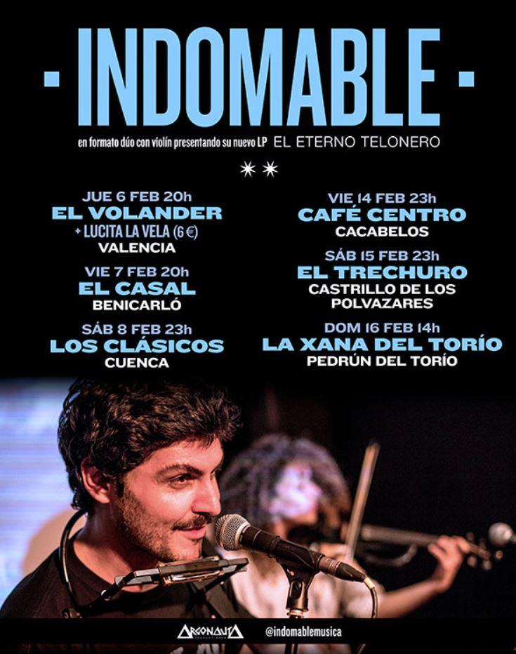 Conciertos de Indomable en León