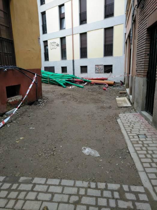 Calle Pablo Florez vía que une el Arco de la Cárcel con la Catedral