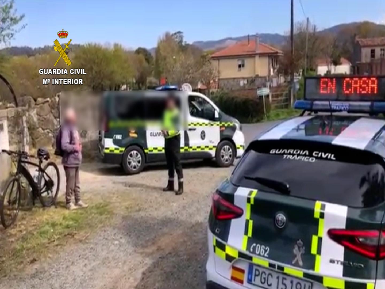 Ciclista de 82 años encontrado a 10 km de su casa en Estado de Alarma