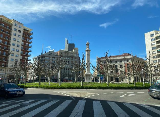 Los leoneses en las calles y el Hospital de León colapsado