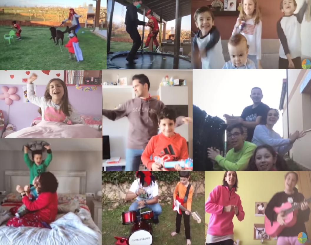 VÍDEO| Divertidísimo gesto para animar a toda la sociedad