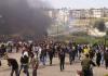 Disparan botes de gas lacrimógeno a varios niños