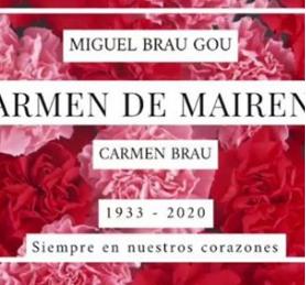 Muere Carmen de Mairena en Barcelona a los 87 años
