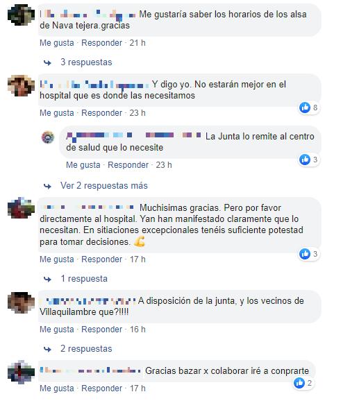 Oleada de solidaridad en el Ayuntamiento de Villaquilambre