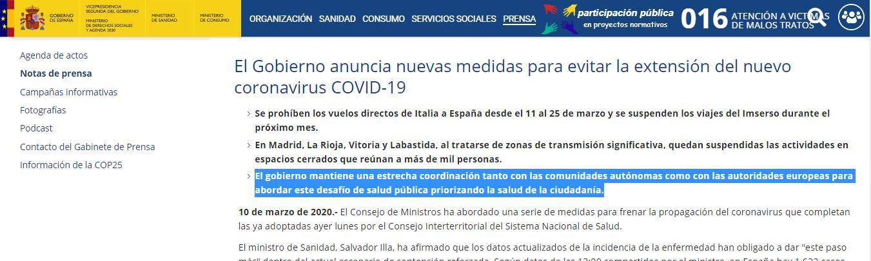 bulo exámenes aprobados con un 5 en la cuarentena por coronavirus en españa