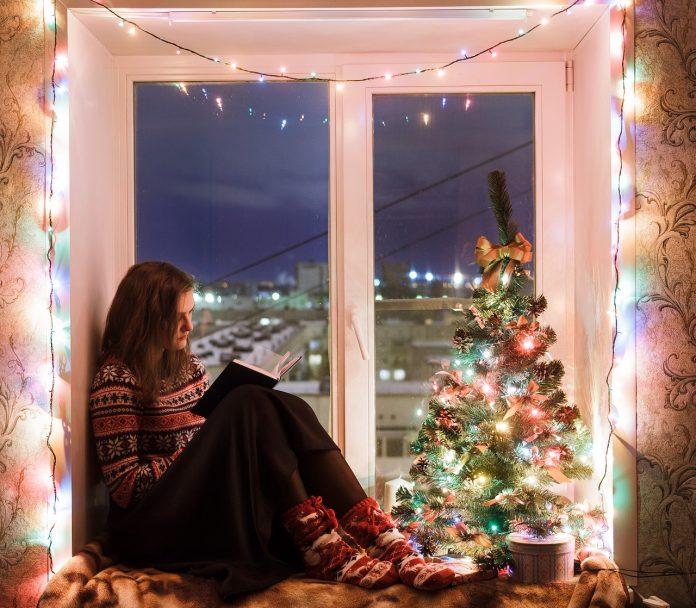 luces de navidad durante el aislamiento