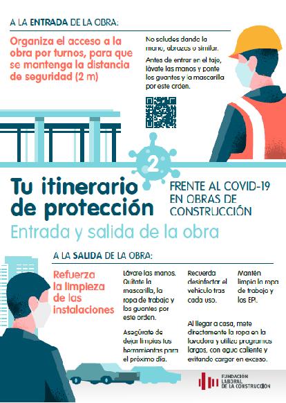 Guía preventiva para la vuelta a las obras el próximo lunes