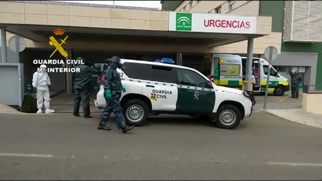 Un hombre positivo en Covid-19 huye del hospital