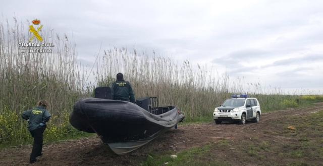 58 detenidos por narcotráfico y 5.626 kilos de hachís incautados