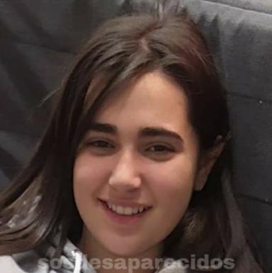 Menor de 14 años desaparecida ayer 21 de abril