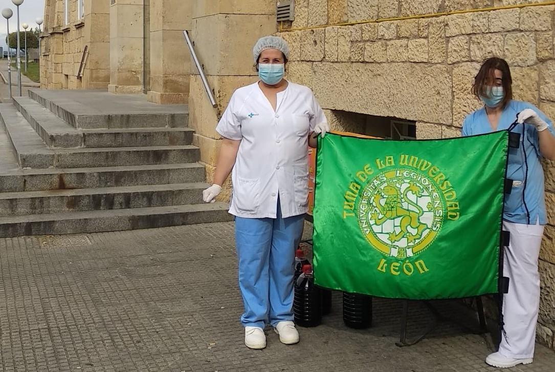 La Tuna de la Universidad de León lucha contra el Covid-19