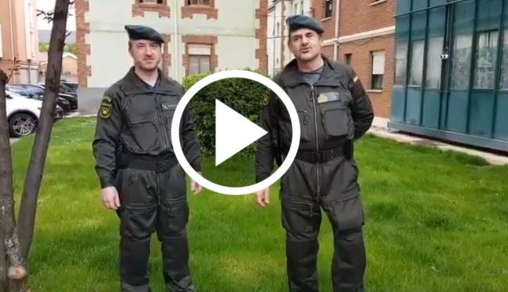 Guardia civil de León