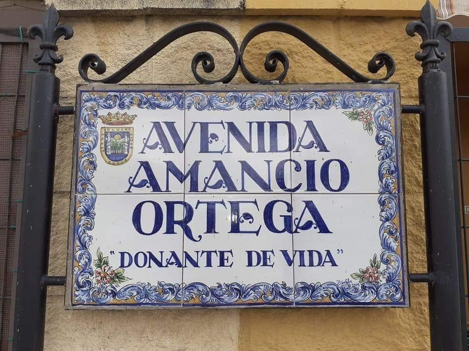 Esta será la Avenida de Amancio Ortega, donante de vida