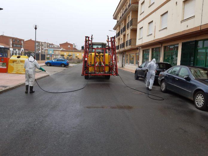 Esta es la nueva operación de desinfección en Santa María del Páramo