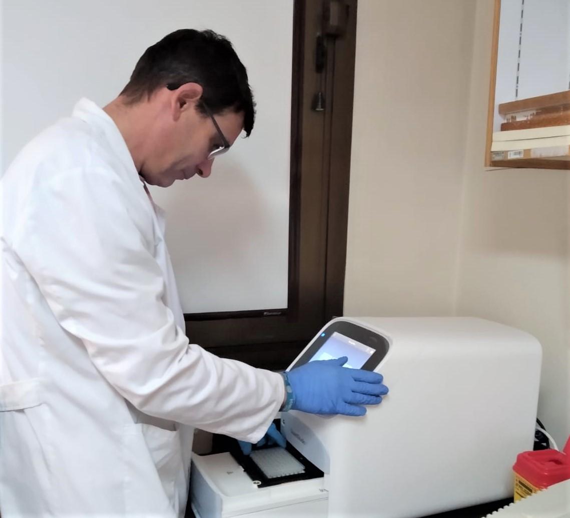 La Universidad de León realiza pruebas para detectar el Covid-19