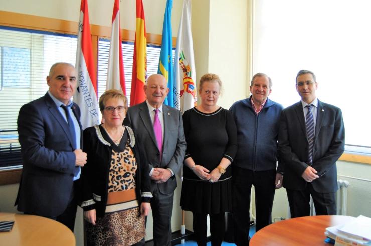 La nueva Junta Directiva de FEDSANG implicada en la lucha del Covid-19