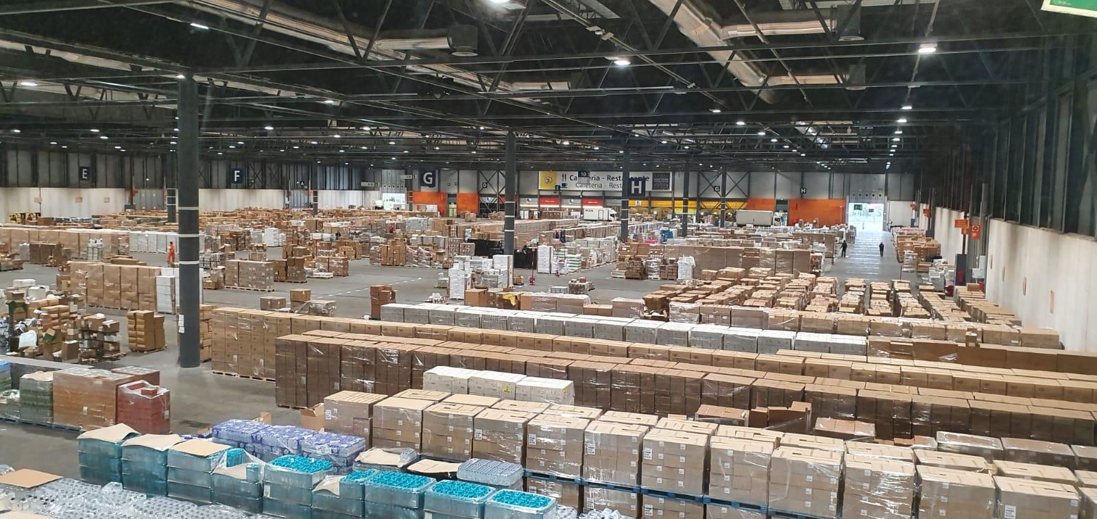 IFEMA no solo es hospital, también abastece material sanitario
