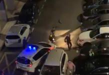 VÍDEO| Enloquecido embiste a la Policía y más vehículos con su coche