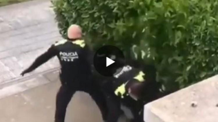 altercado policia girona