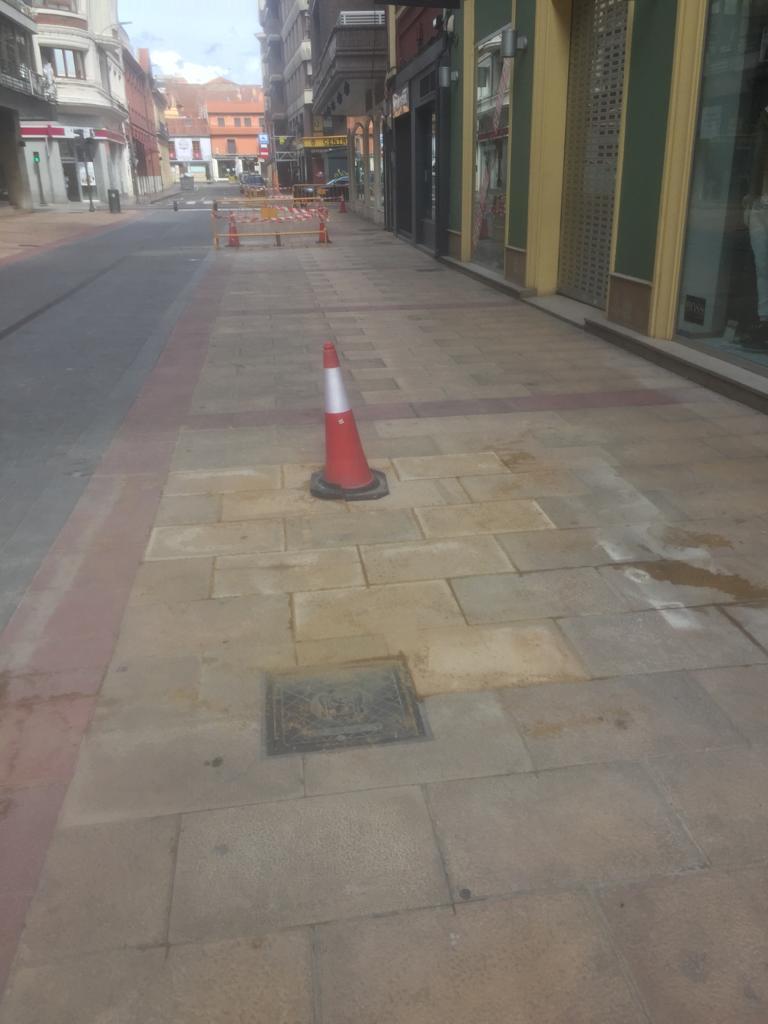 obras de la calle burgo nuevo cambian
