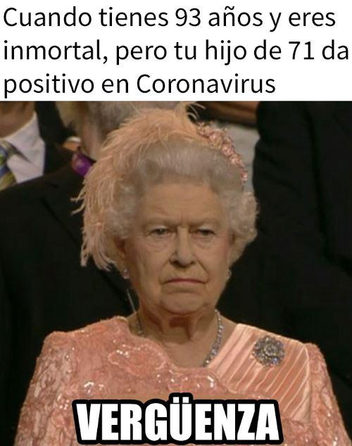isabel ii memes inmortal ante el coronavirus