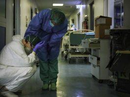 lucha de los enfermeros ante el coronavirus