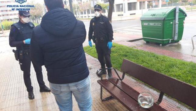 multa policia nacional en cuarentena peces