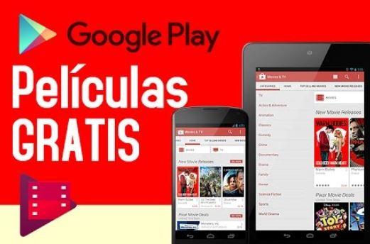 peliculas gratis google play