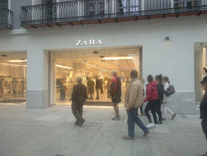 reapertura de Zara