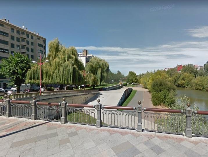 UPL solicita abrir la zona peatonal de la ribera del río Bernesga