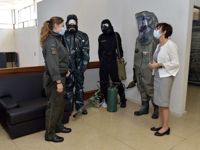 3.000 efectivos de la Guardia Civil integran el NRBQ