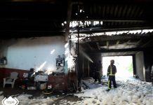 Los bomberos sofocan un incendio sin daños personales