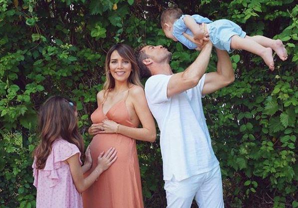 Estampa familiar de David Bisbal a punto de ser padre por tercera vez