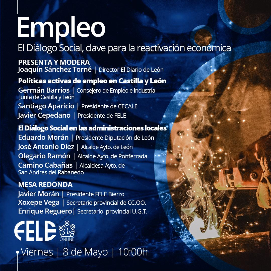 Reunión de representantes políticos, empresariales y sindicales de León