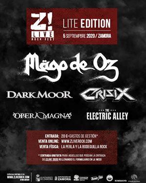 Mägo de Oz y 4 bandas más confirmadas en el Z! Live Rock Lite Edition
