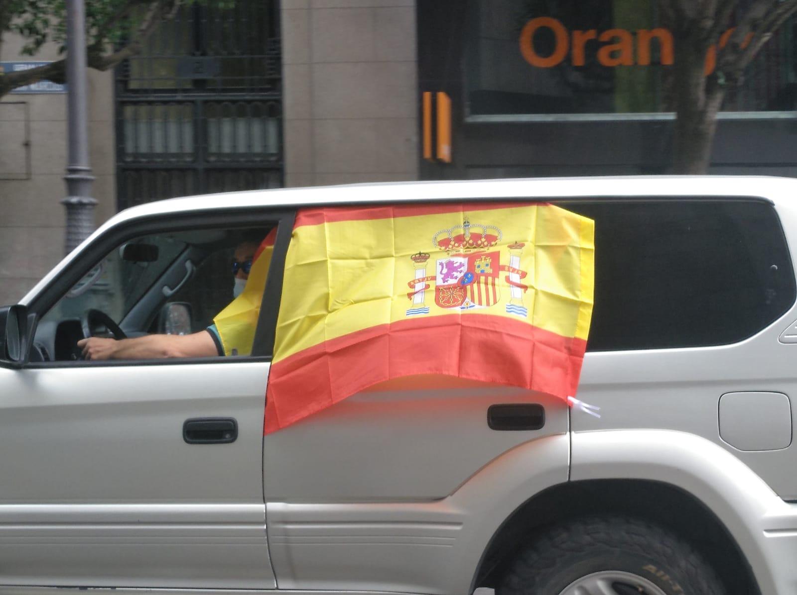 Manifestación Vox España Libertad