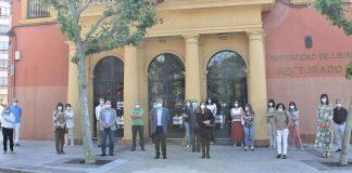 La Universidad de León se suma al minuto de silencio