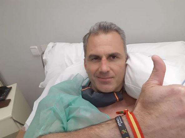 Javier Ortega-smith ingresado de urgencia por trombos en los pulmones
