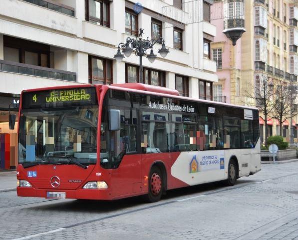 autobús leon