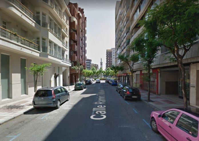 calle ramiro valbuena cortada al tráfico en león por obras