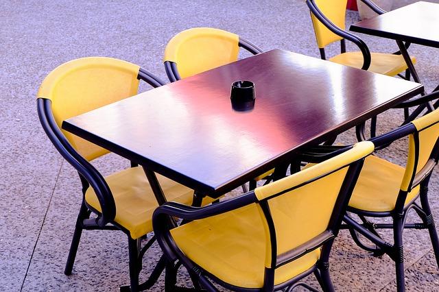 terraza de un bar o restaurante de alemania