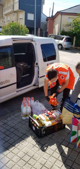 Cruz Roja en León atendió a 11.647 personas desde que empezó el C-19