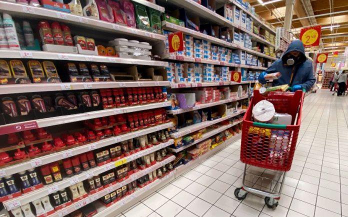 mascarilla supermercados