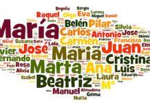nombres y apellidos españa 2020