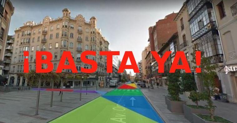 Ciudadanos denuncia que peatonalizar Ordoño II es ilegal